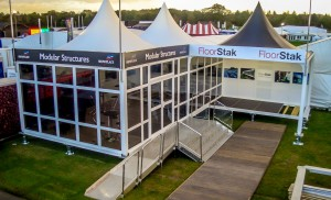 Client Floor Stak Event Showman's Show Equipment 3 5m x 5m Moda Structures