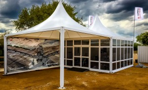 Terex Washing Systems Exhibitions Event Private Demo Event  Equipment 2 6m x 6m Moda Structures (1)