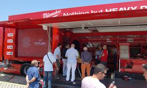 Milwaukee exhibition & mobile retail trailer