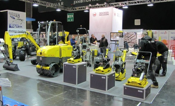 Exhibition Stand Builders Coventry : Plantworx showplace