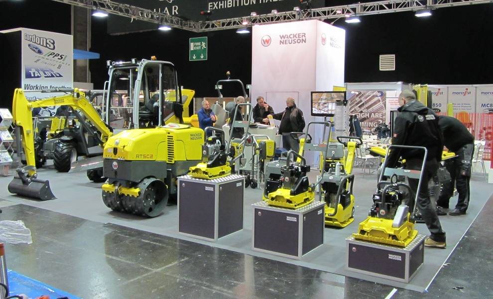 Exhibition Stand Builders Coventry : Intermat