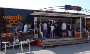 Wiggle exhibition & retail unit