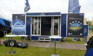 Trelleborg Exhibition trailer