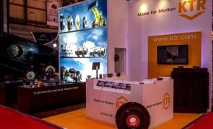 Client KTR Event RWM Equipment Bespoke Indoor Stand