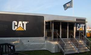 12m large exhibition trailer for hire