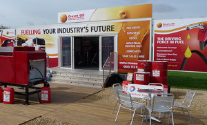 9m exhibition trailer for hire