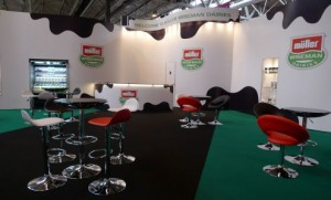 Muller Wiseman Indoor Exhibition Stand Case Study