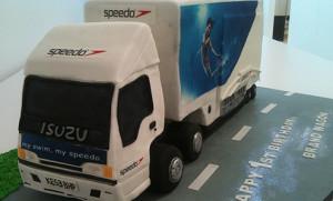 Speedo roadshow trailer