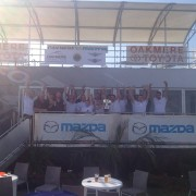 Mazda trailer stand at Cheshire Show