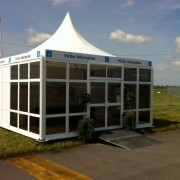 Air Tattoo Information Point Stand for organisers