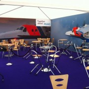 Air Tattoo inside Crew Club Stand