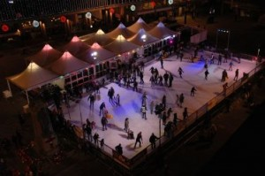 Ice Rink Photo Overhead