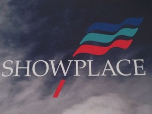Showplace Logo from graphic wall Showmans Show
