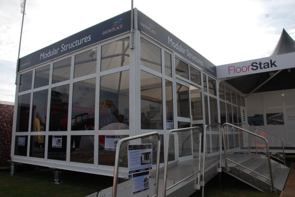 Showplace Stand at Showmans Show