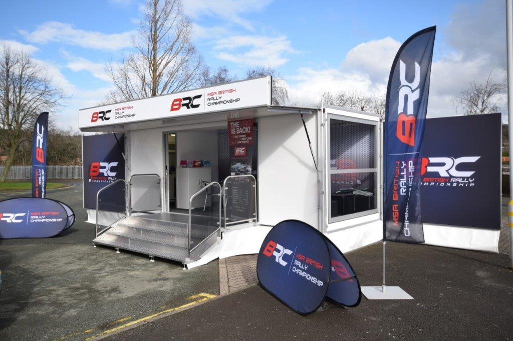 6.6m exhibition trailer for hire
