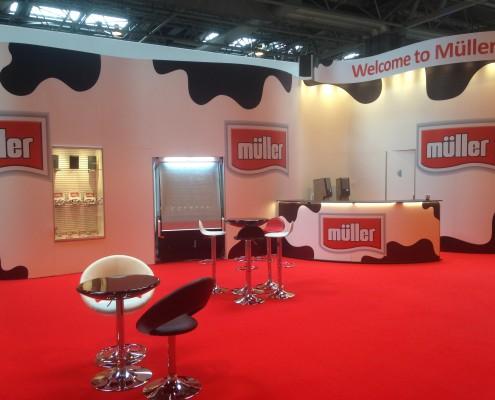Muller Wiseman Exhibition Stand
