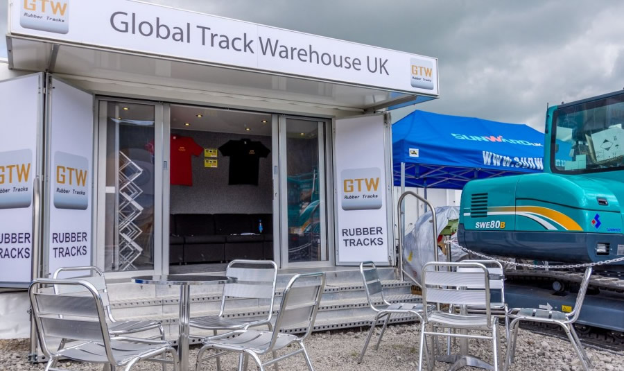 small 5m exhibition trailer for hire