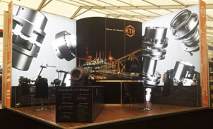 KTR Offshore Europe Exhibition Stand Case Study