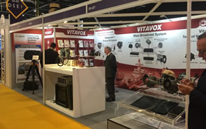 VITAVOX Exhibition Stand Case Study