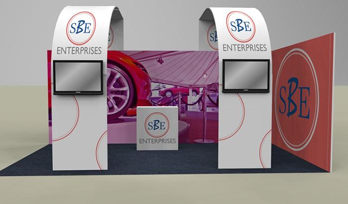 Exhibition Stand Design Price : Echo exhibition stand package exhibition stand design