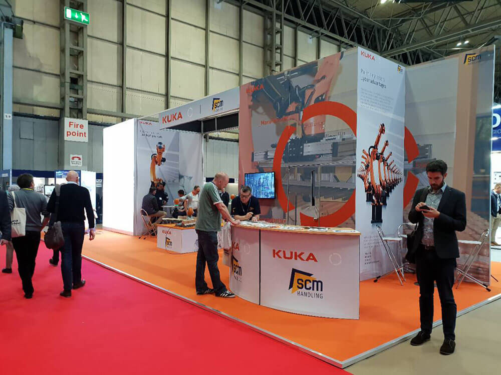 Exhibition Stand Kuka @ PPMA 2018 - Structures