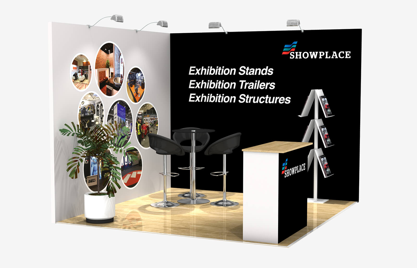 Showplace Bronze 3X3 - Exhibition Packages