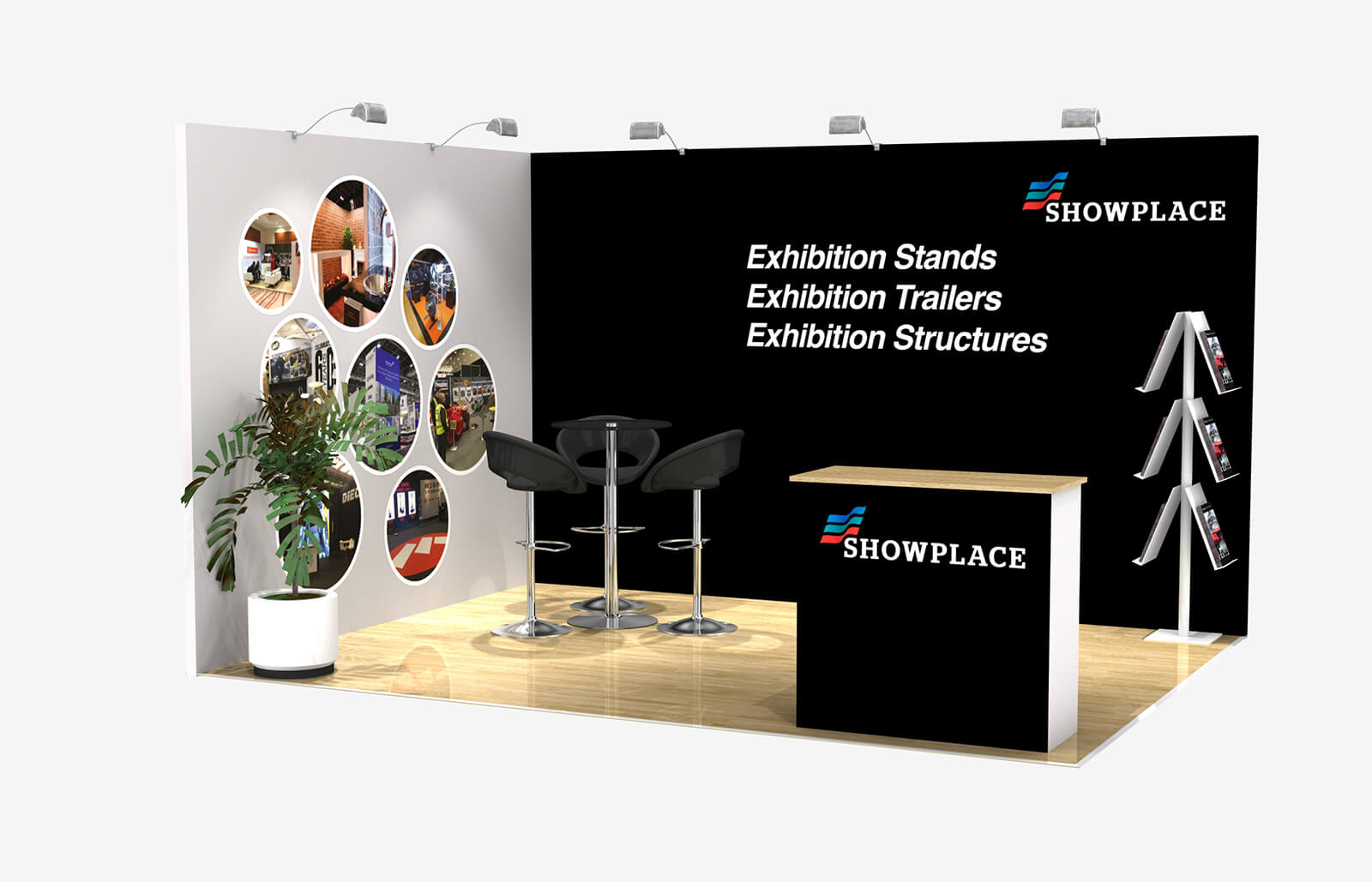Showplace Bronze 3X4 - Exhibition Packages