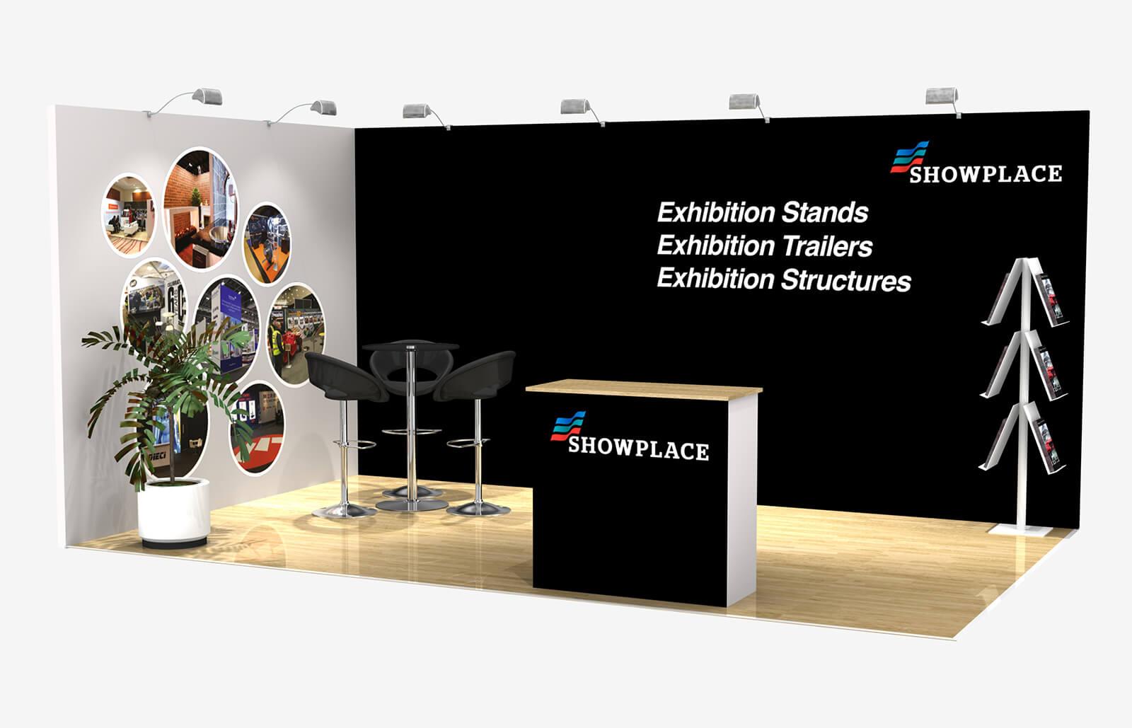 Showplace Bronze 3X5 - Exhibition Packages