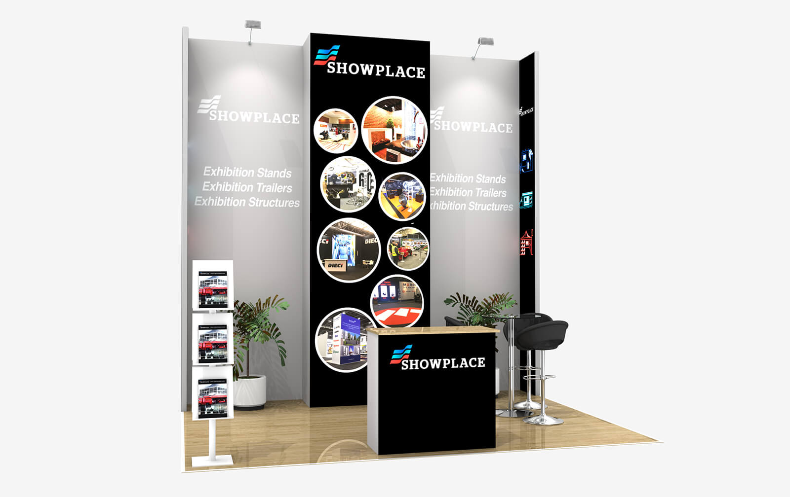 Showplace Gold 3X4 - Exhibition Packages