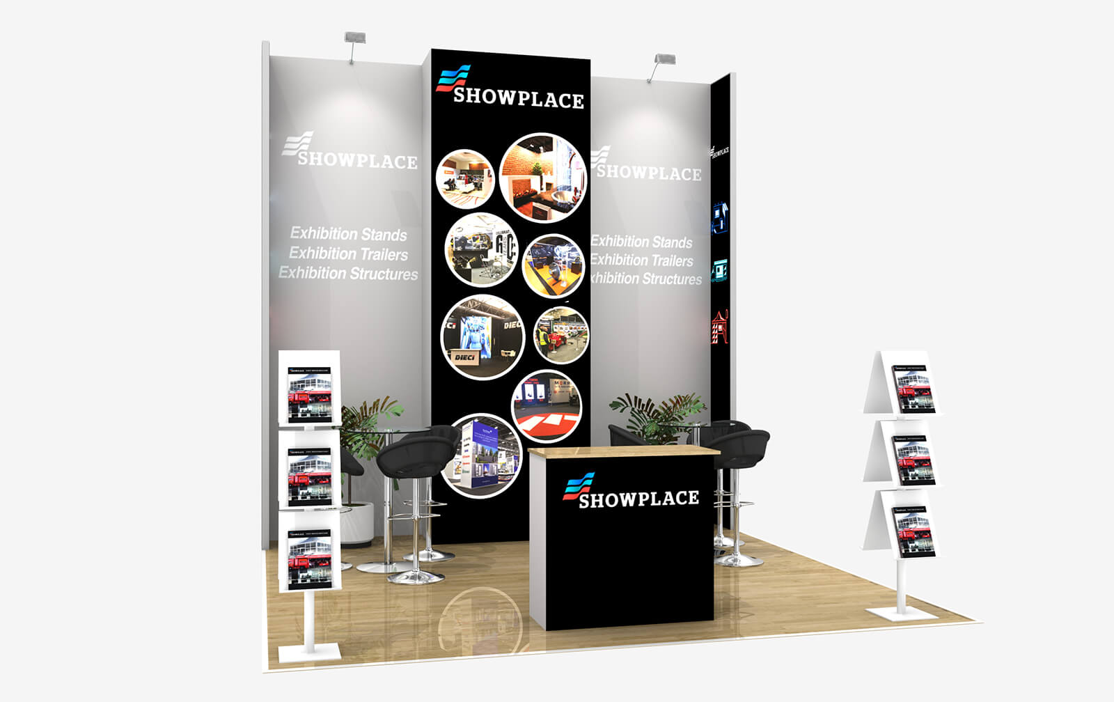 Showplace Gold 4X4 - Exhibition Packages