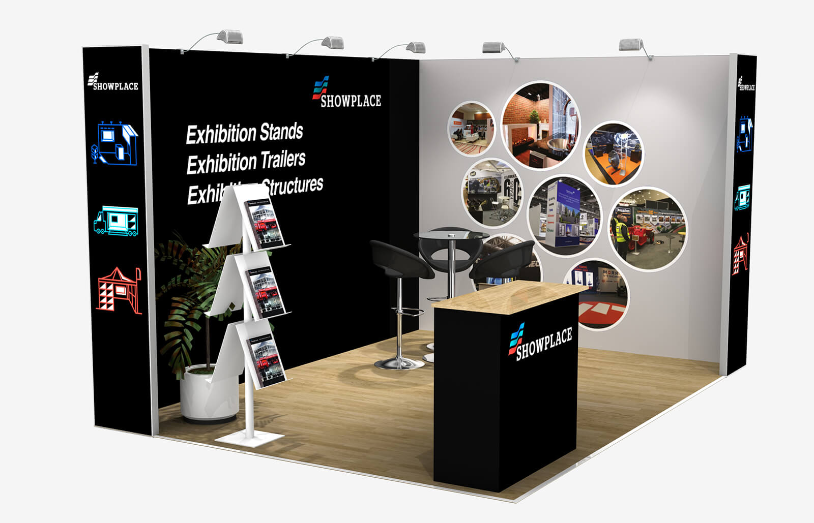 Showplace Silver 3X4 - Exhibition Packages