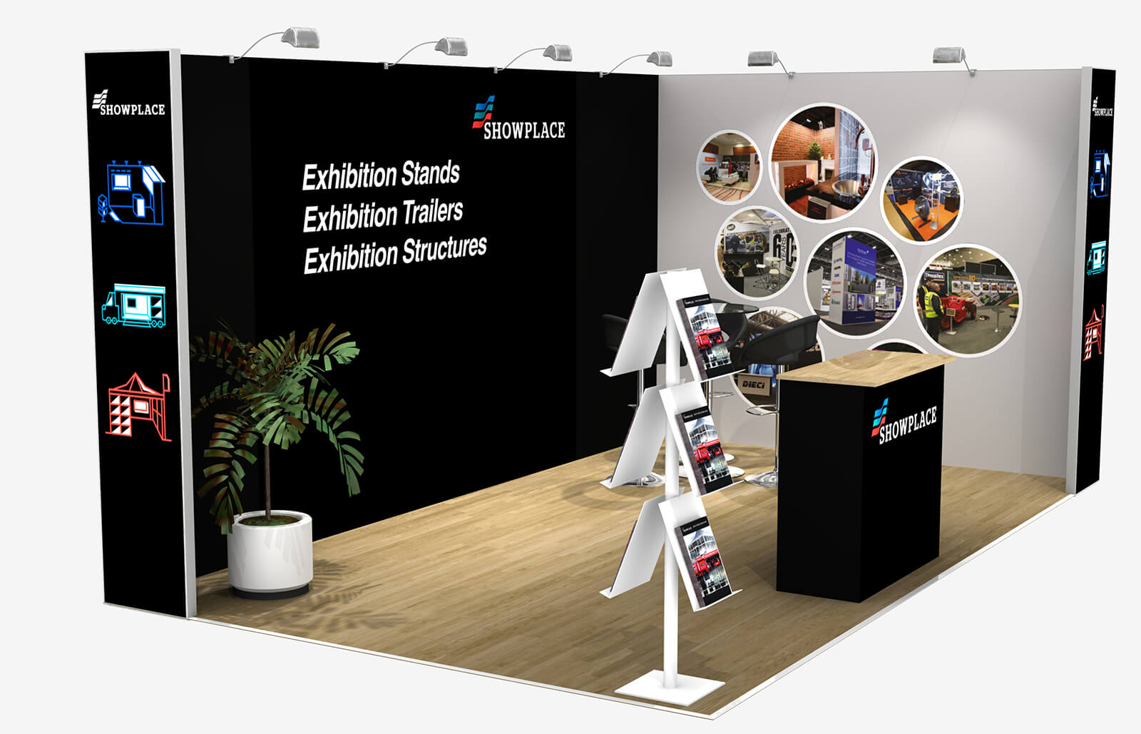 Showplace Silver 3X5 - Exhibition Packages