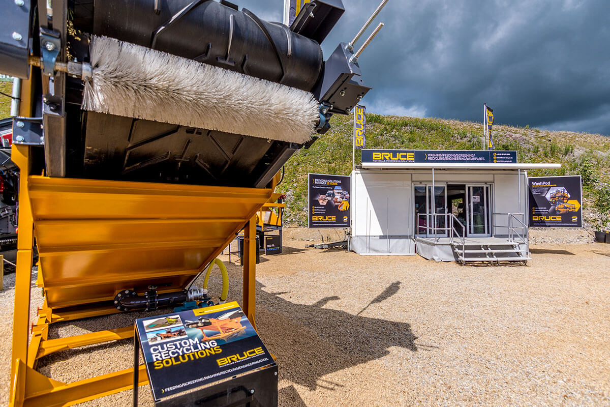 Trailer Bruce @ Hillhead 2016 - Exhibition Stands