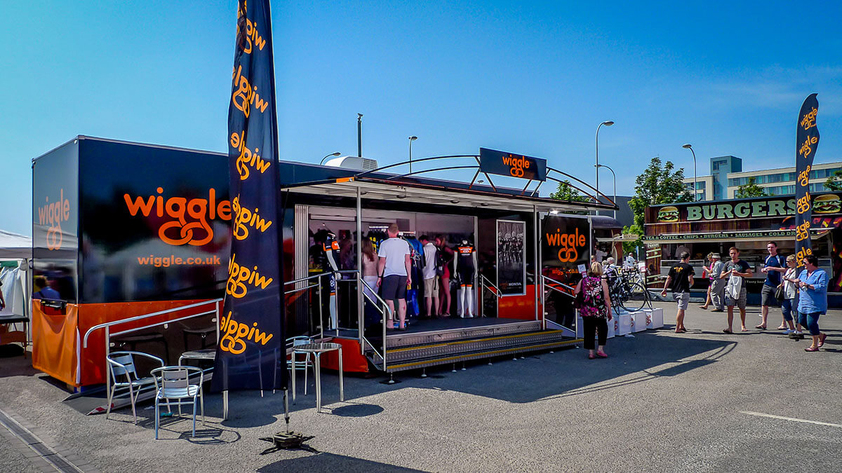 Trailer CT6 Wiggle 10m - Exhibition Stands