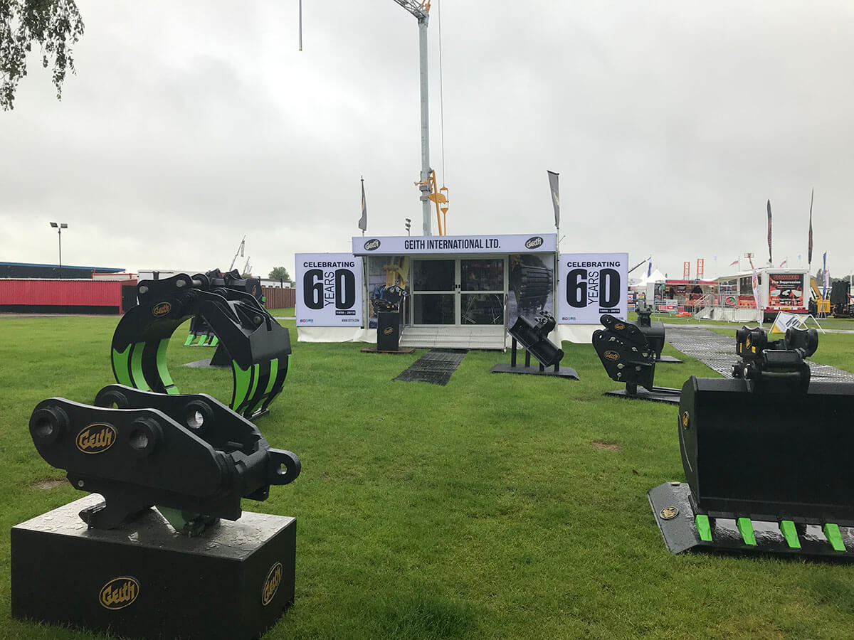 Trailer Geith @ Plantworx 2019 - Exhibition Stands