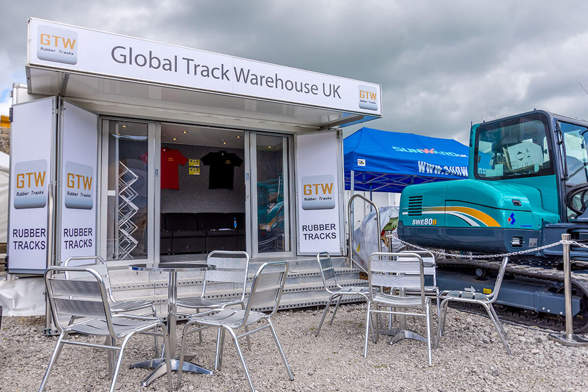 Trailer Global Track Warehouse @ Hillhead 2016 - Exhibition Stands