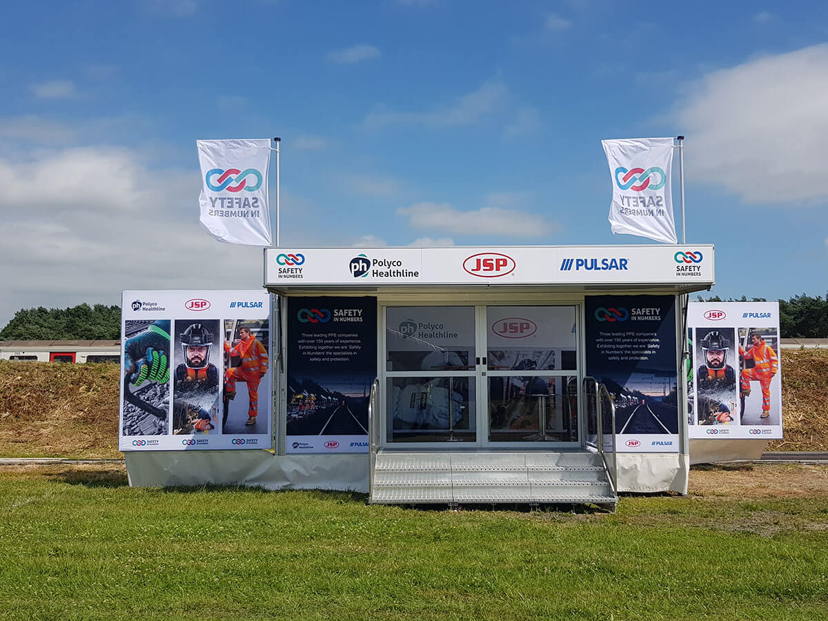 Trailer JSP @ Rail Live 2018 - Exhibition Stands