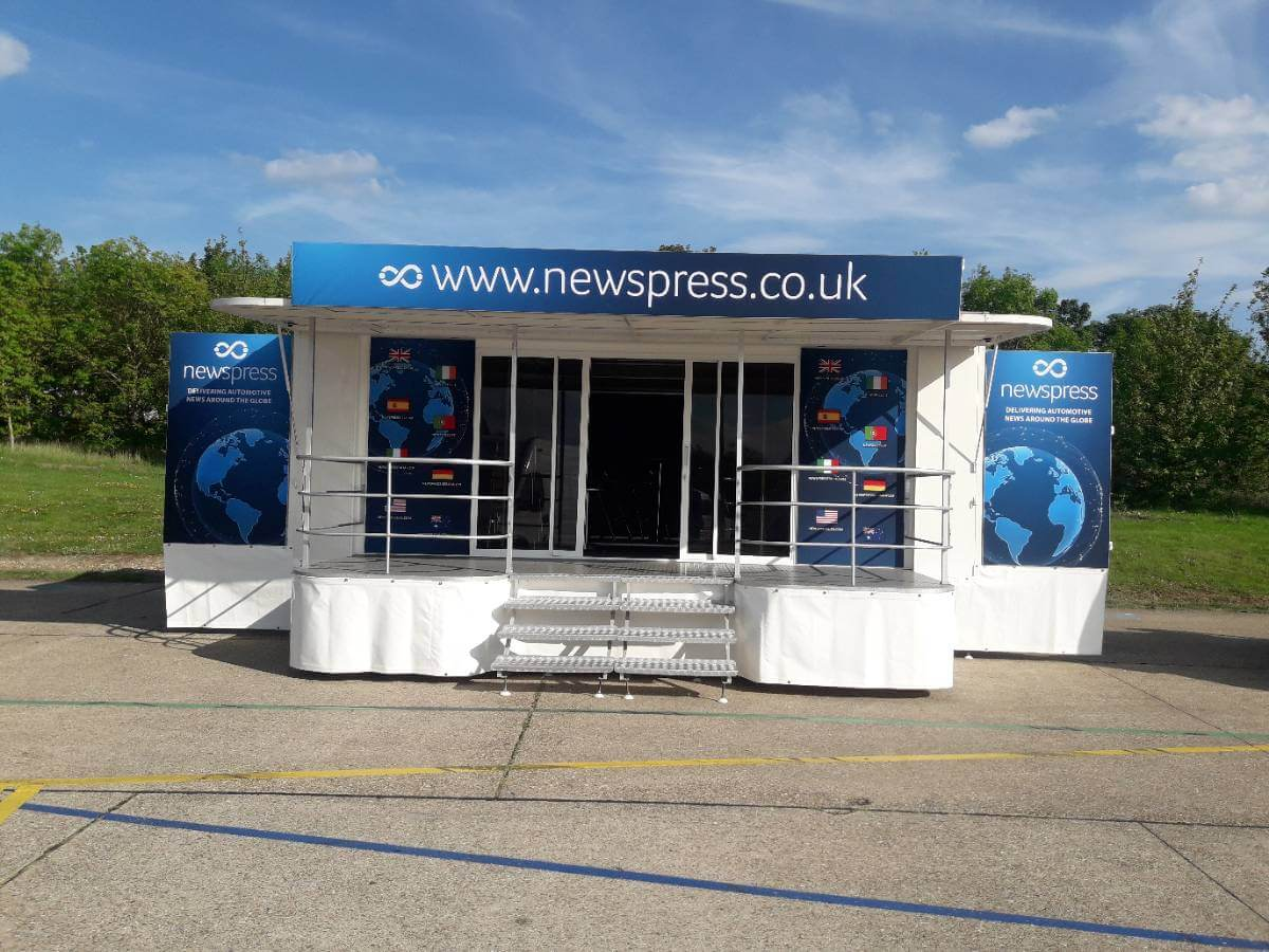 Trailer Newspress@ SMMT 2019 - Exhibition Stands