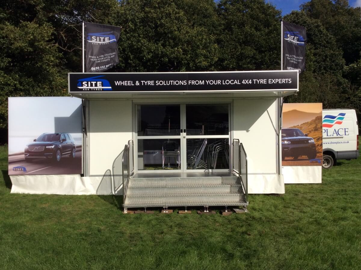 Trailer Southam Tyres @ Midland Game Fair 2017 - Exhibition Stands