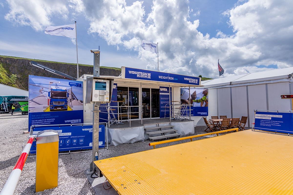 Trailer Weightron @ Hillhead 2016 - Exhibition Stands