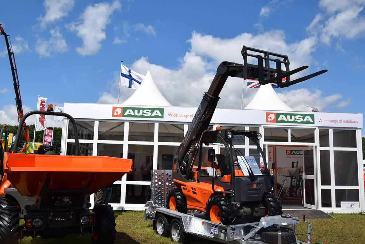 AUSA @ Plantworx 2017 - Exhibition Stands