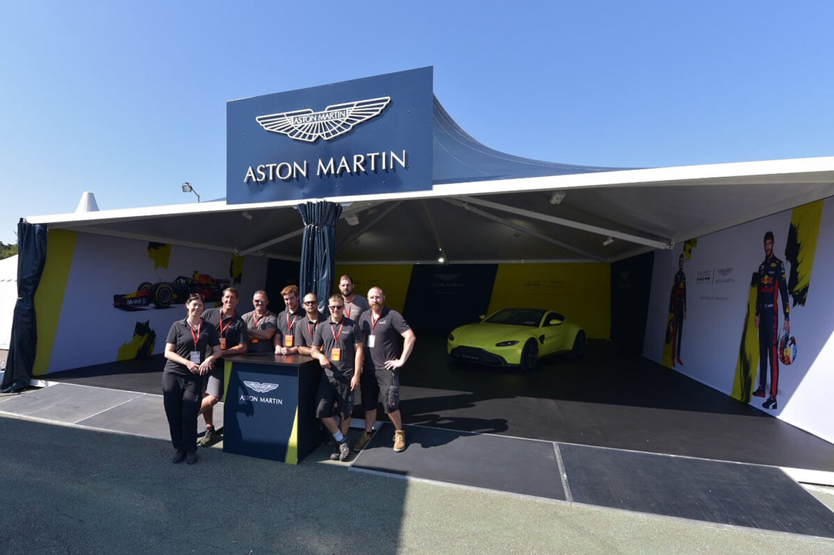Aston Martin @ Belgian Grand Prix 2018 - Exhibition Stands