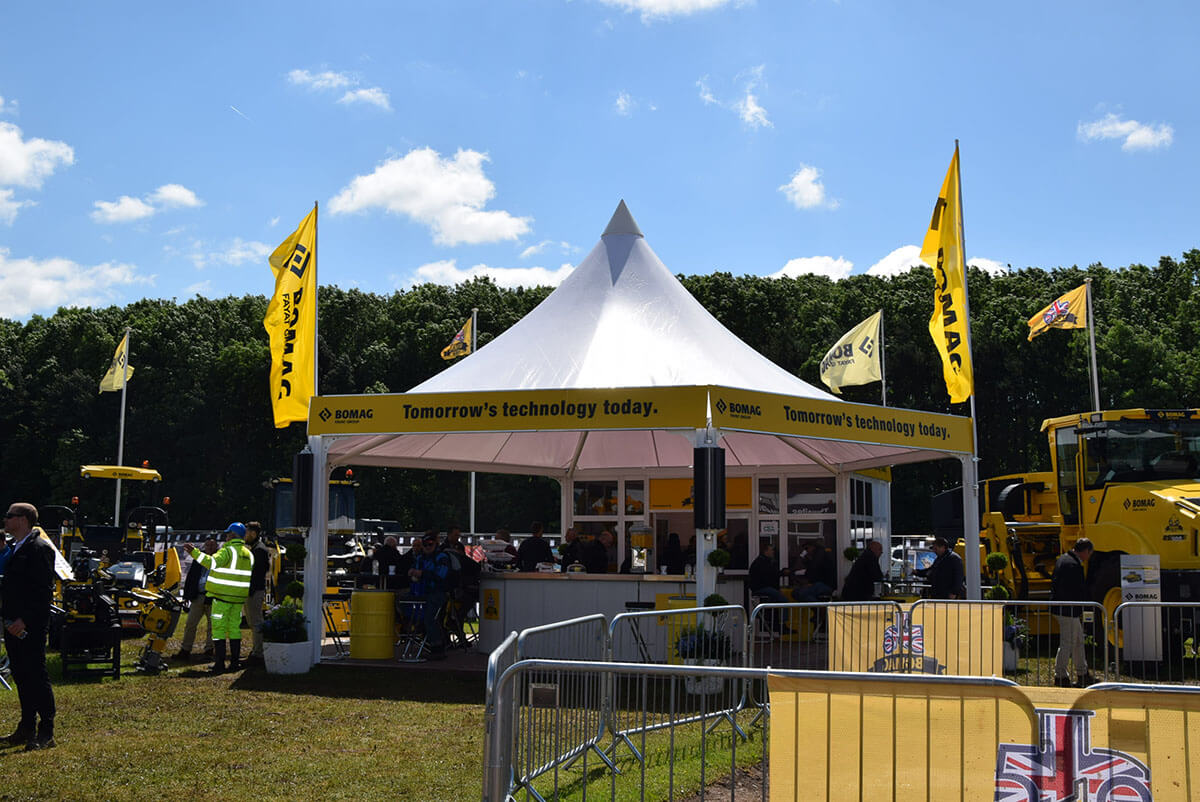 Bomag @ plantworx 2017 1 - Exhibition Stands