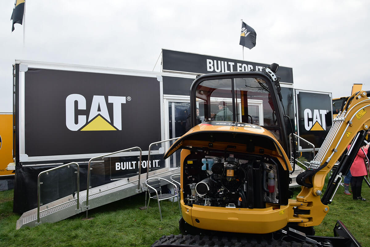 CAT @ LAMMA 2016 - Exhibition Stands
