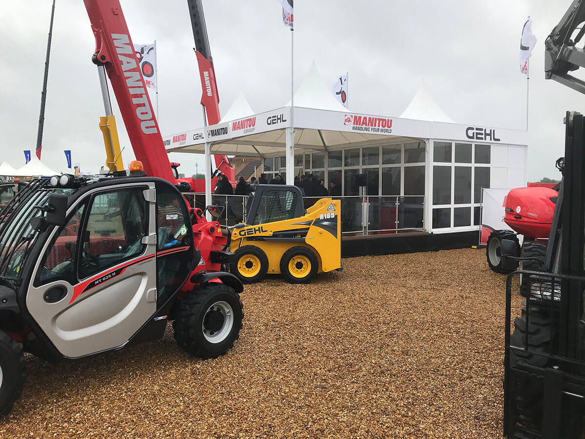 GEHL @ Plantworx 2019 - Exhibition Stands