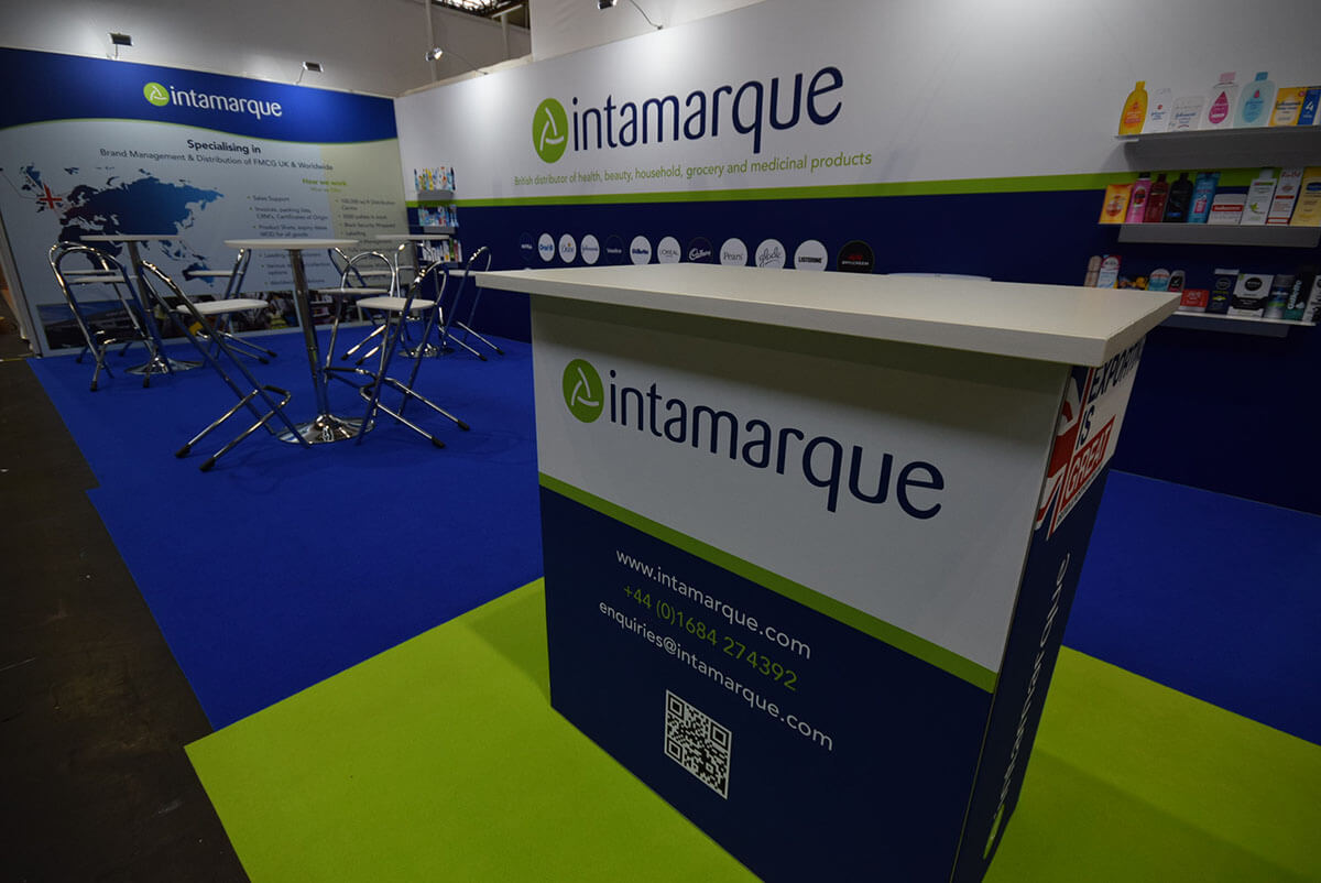 Intamarque @ Spring Fair 2018 - Exhibition Stands