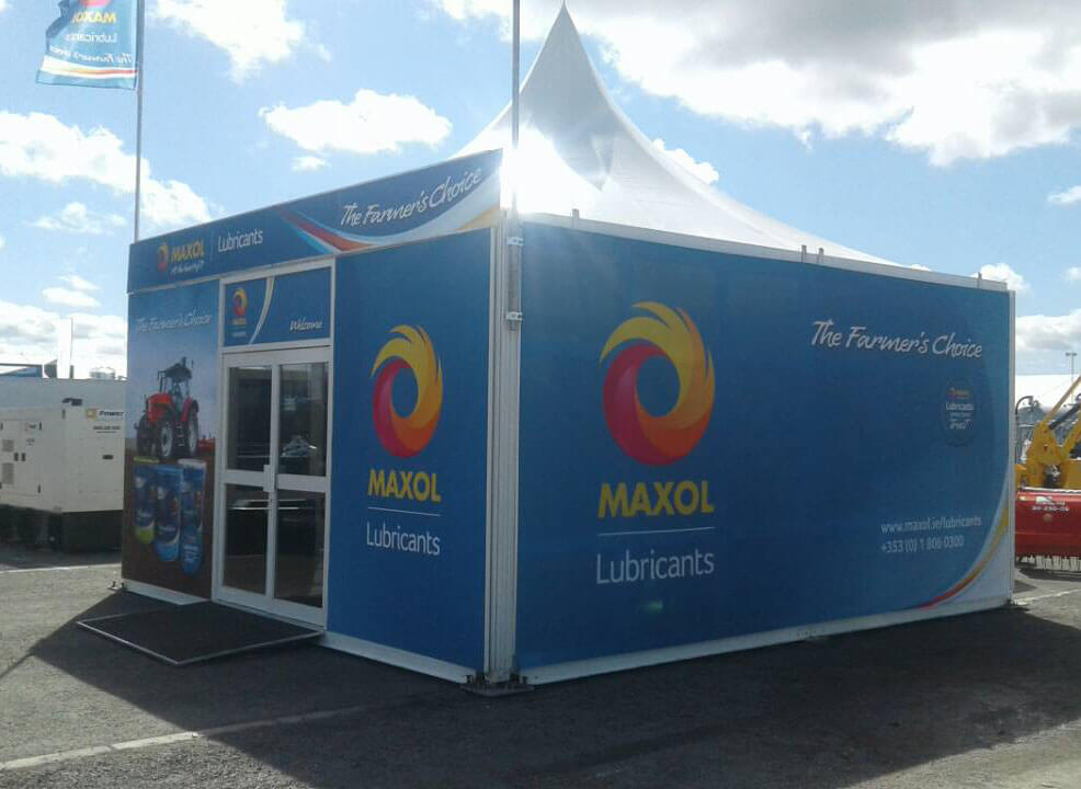 Maxol @ Balmoral 2018 - Exhibition Stands
