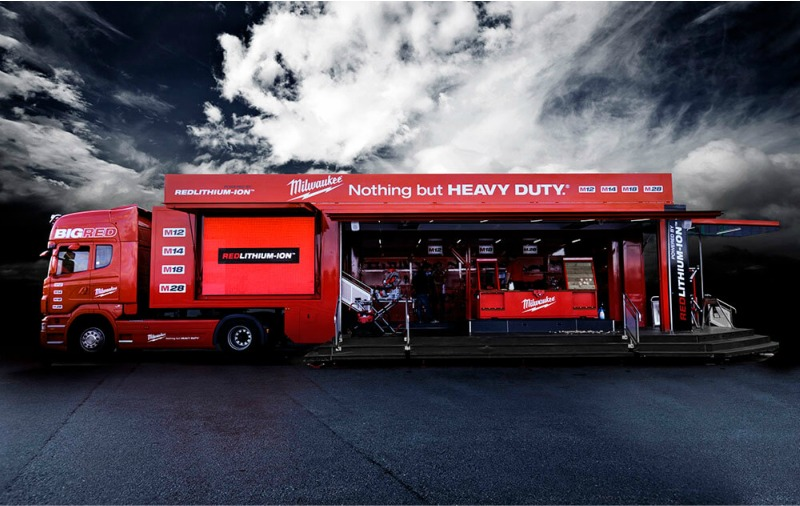 Milwaukee Tools Go On Tour