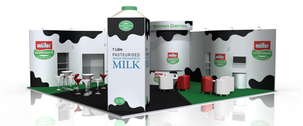 Muller Wiseman Indoor Stand Design - Unique Exhibition Stands