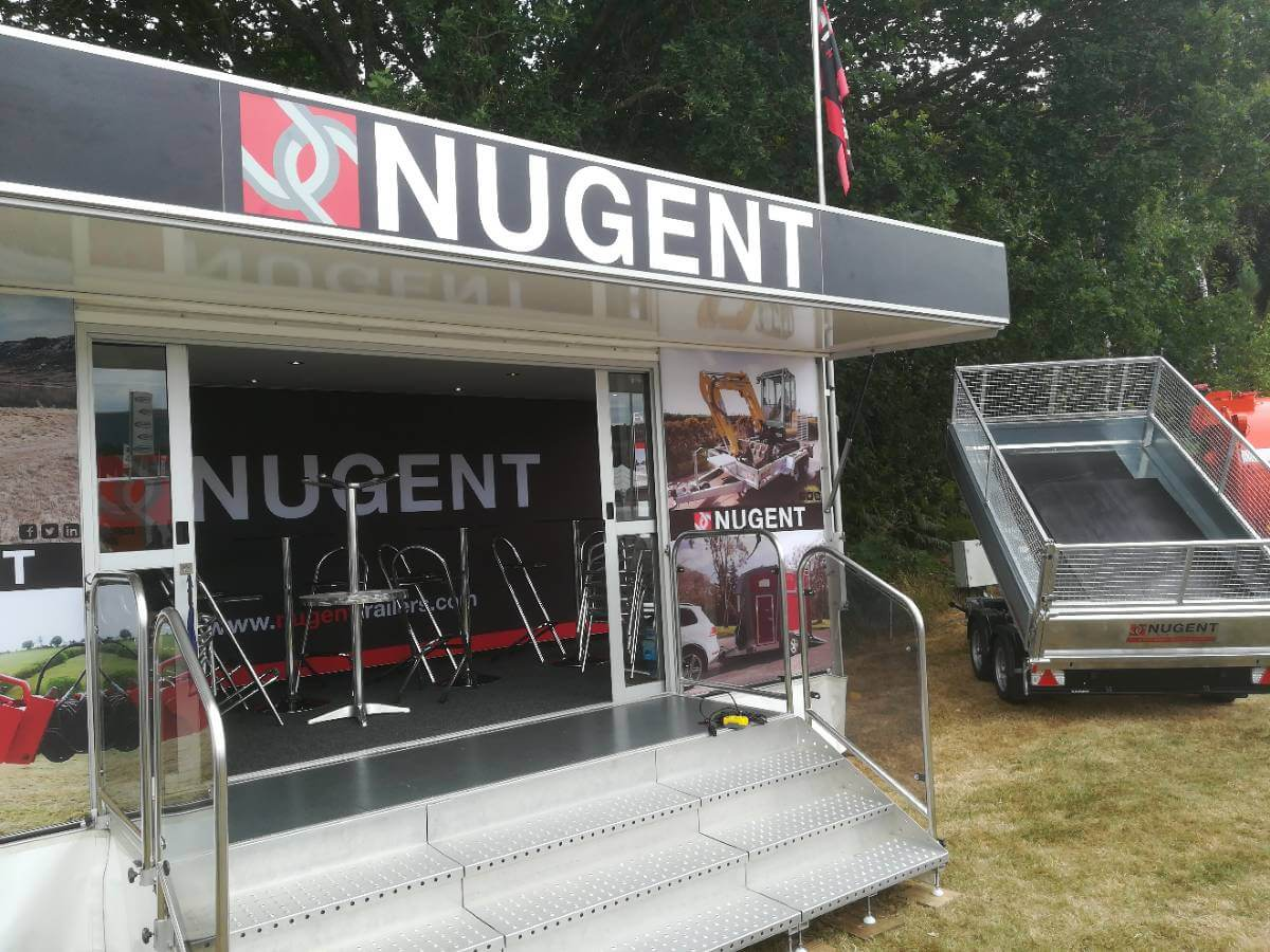 Nugent @ Royal Welsh Show 2018 - Exhibition Stands